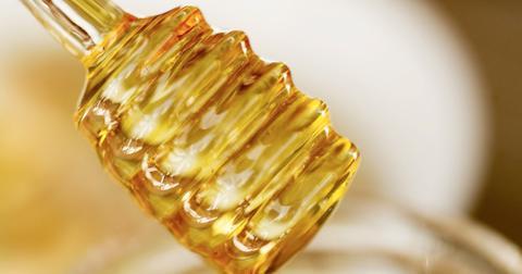 Crystalized honey