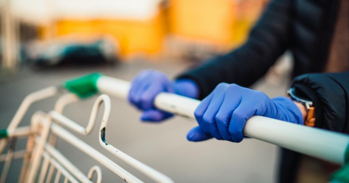 gloves coronavirus store