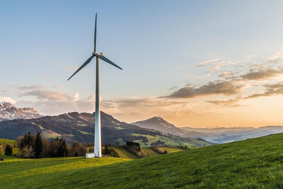 wind turbine __