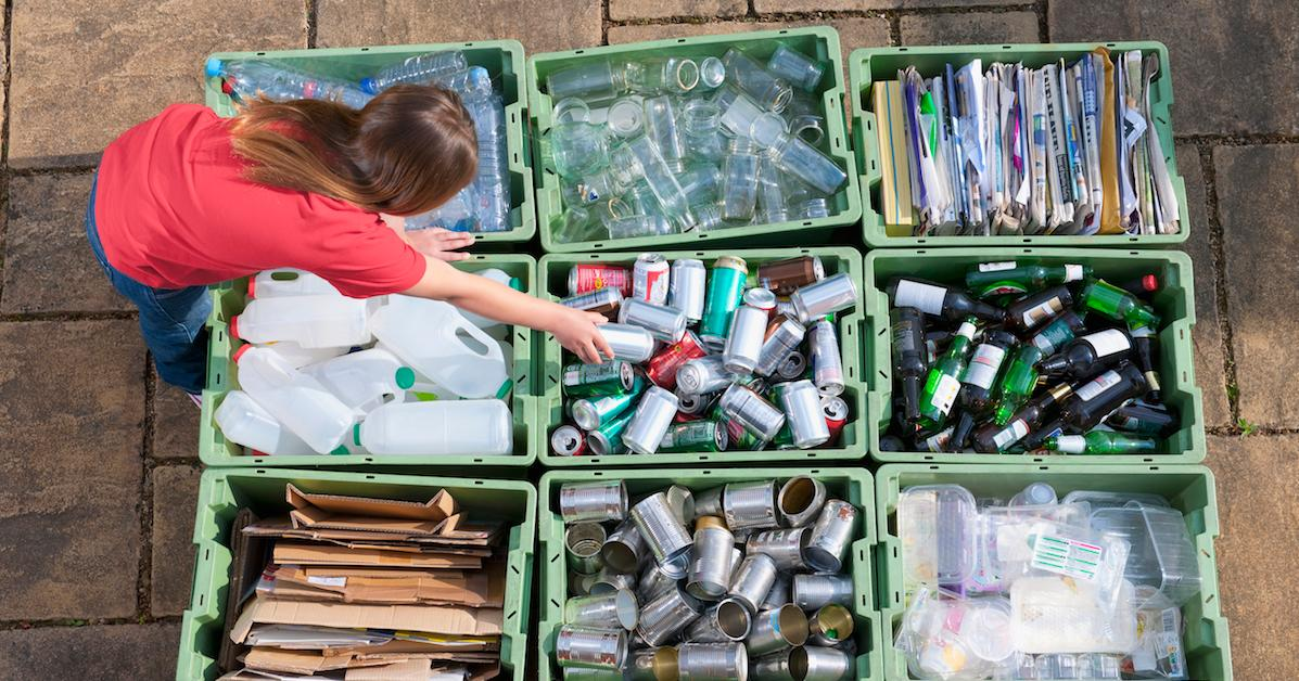 how does recycling prevent pollution