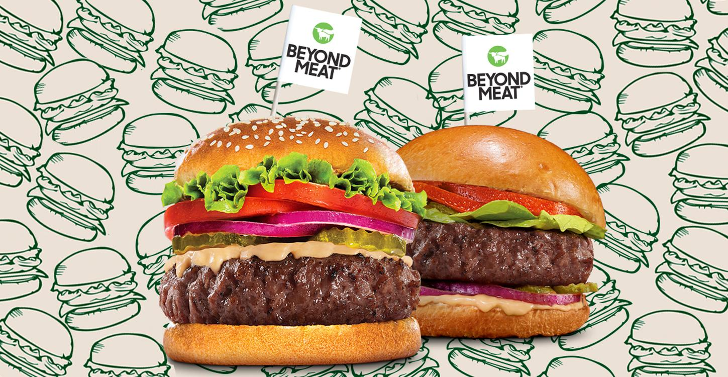 beyond meat new burgers