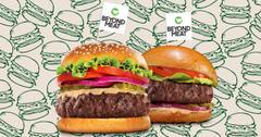 超越肉新汉堡