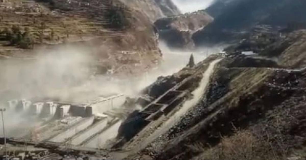 Uttarakhand's Glacier Burst