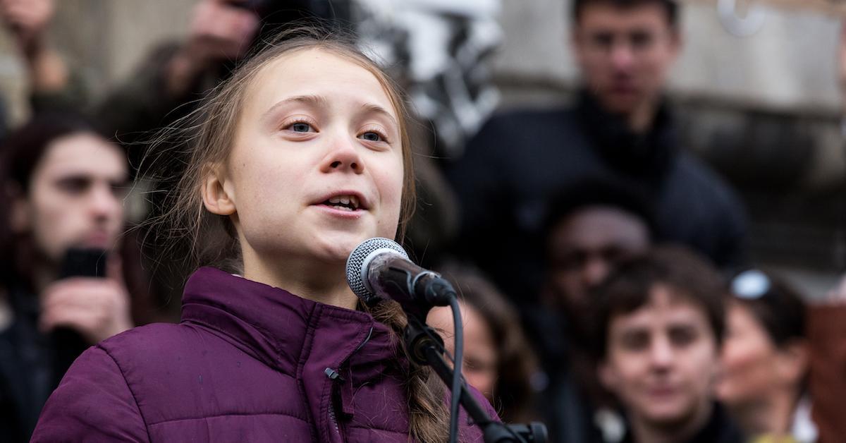 Who supports Greta Thunberg?