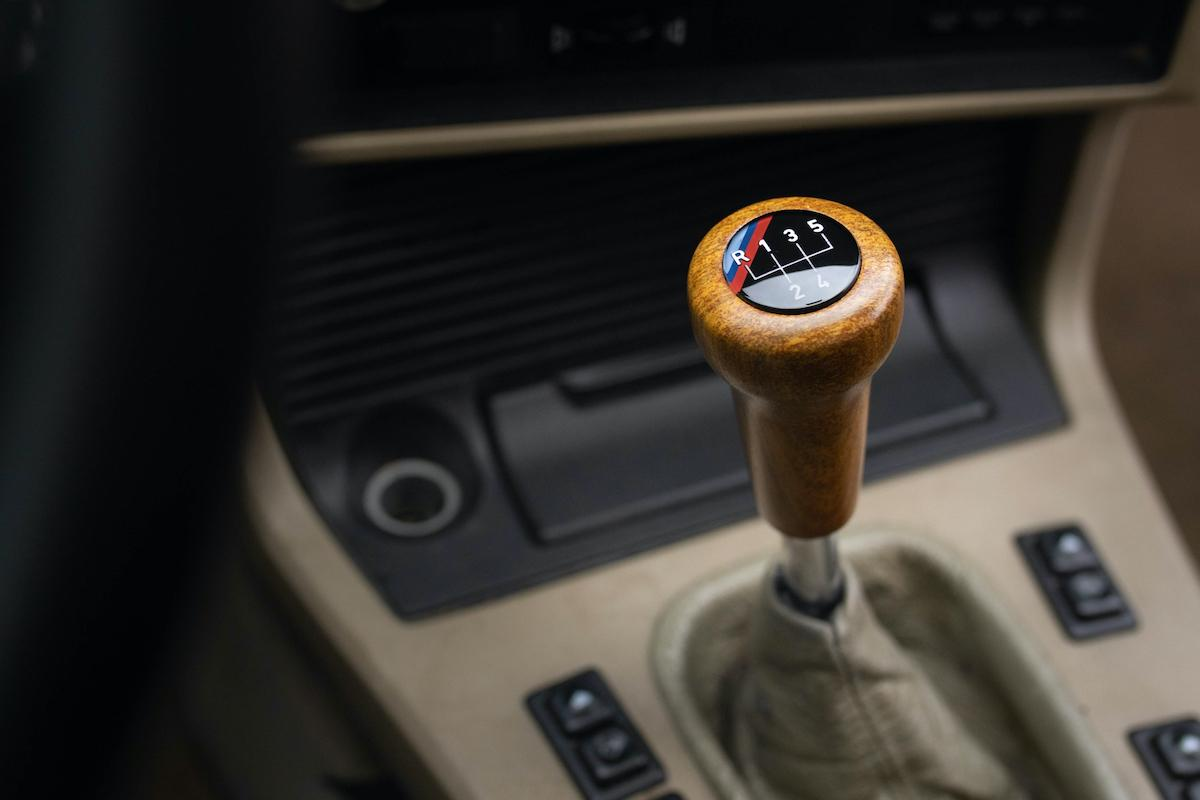 3D-printed wooden gear shift by Forust