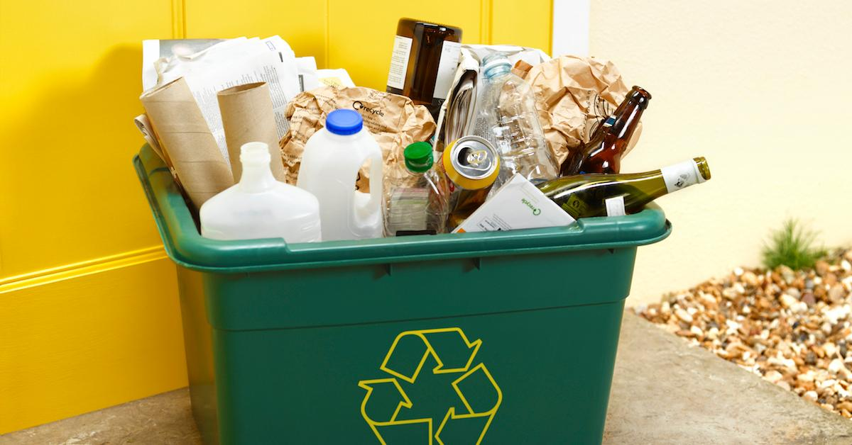 what is commingled recycling
