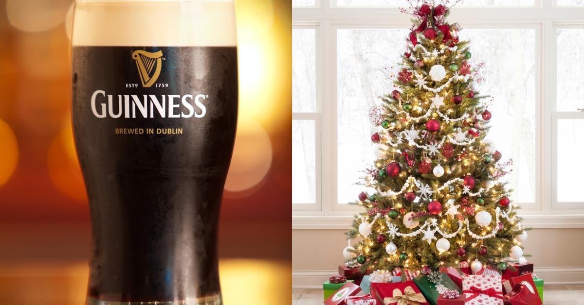 guinness christmas tree
