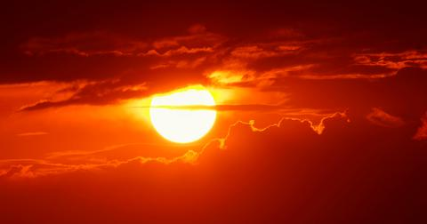 What is a solar flare?
