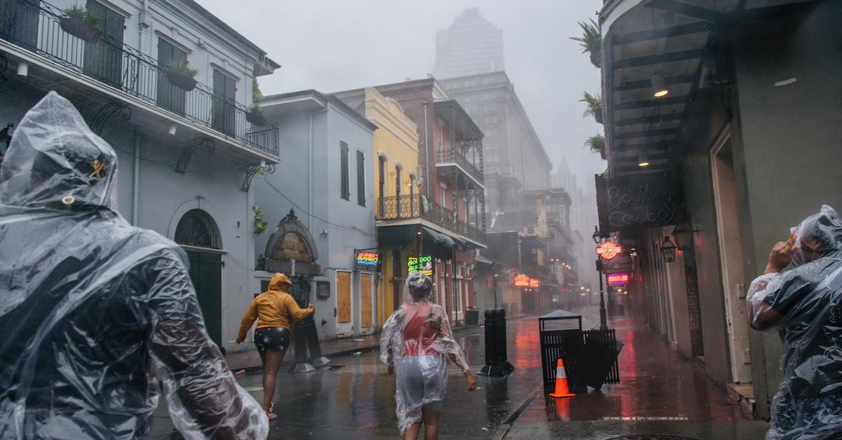 Hurricane Ida Climate Change