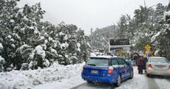 雪怀俄明州