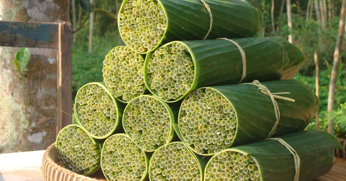 Compostable Wild Grass Straws Are Vietnam's Newest Zero-Waste Straw Option