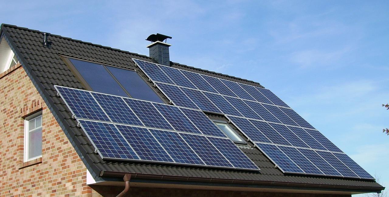 solar panel array _