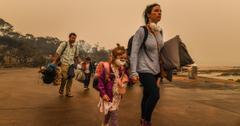 澳大利亚火灾撤离