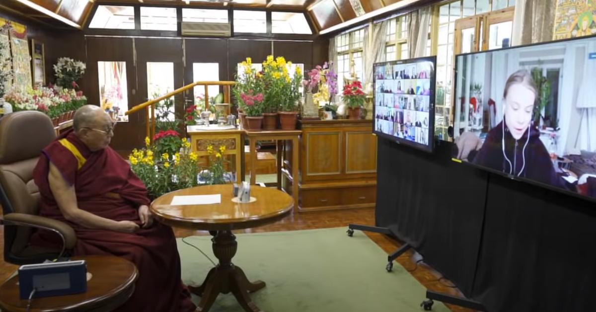 dalai lama greta thunberg