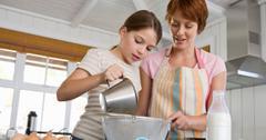 Alternatives to dairy milk for baking