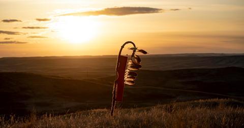 lakota flag standing rock sioux tribe wind farm