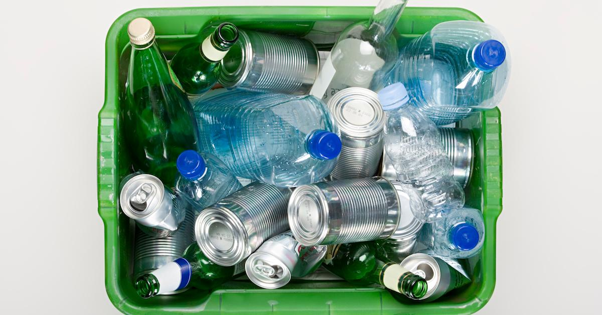 Is it better to recycle by weight or by count?