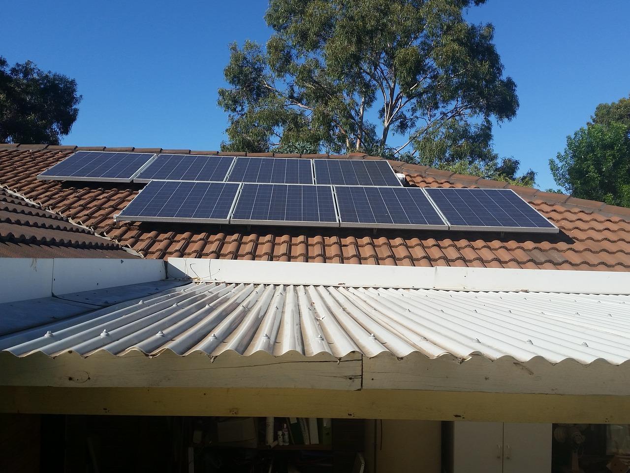 solar panels _
