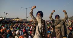 印度农场比尔抗议