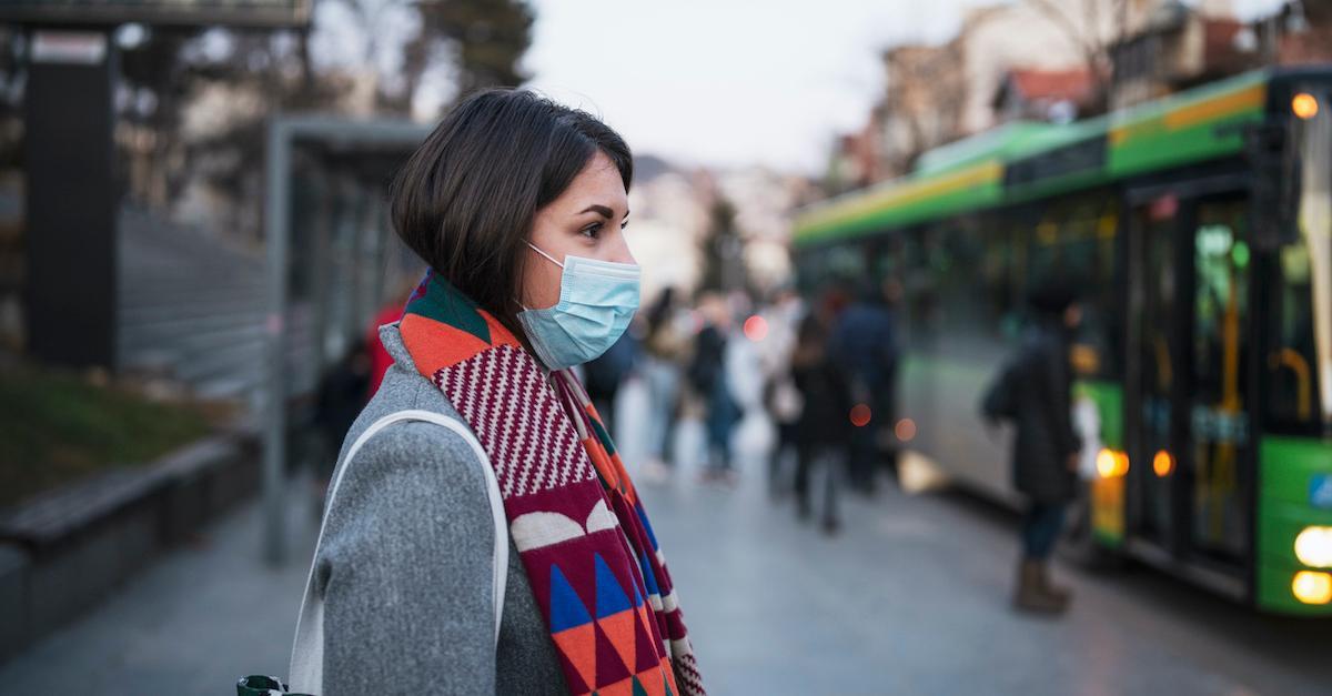 woman face mask
