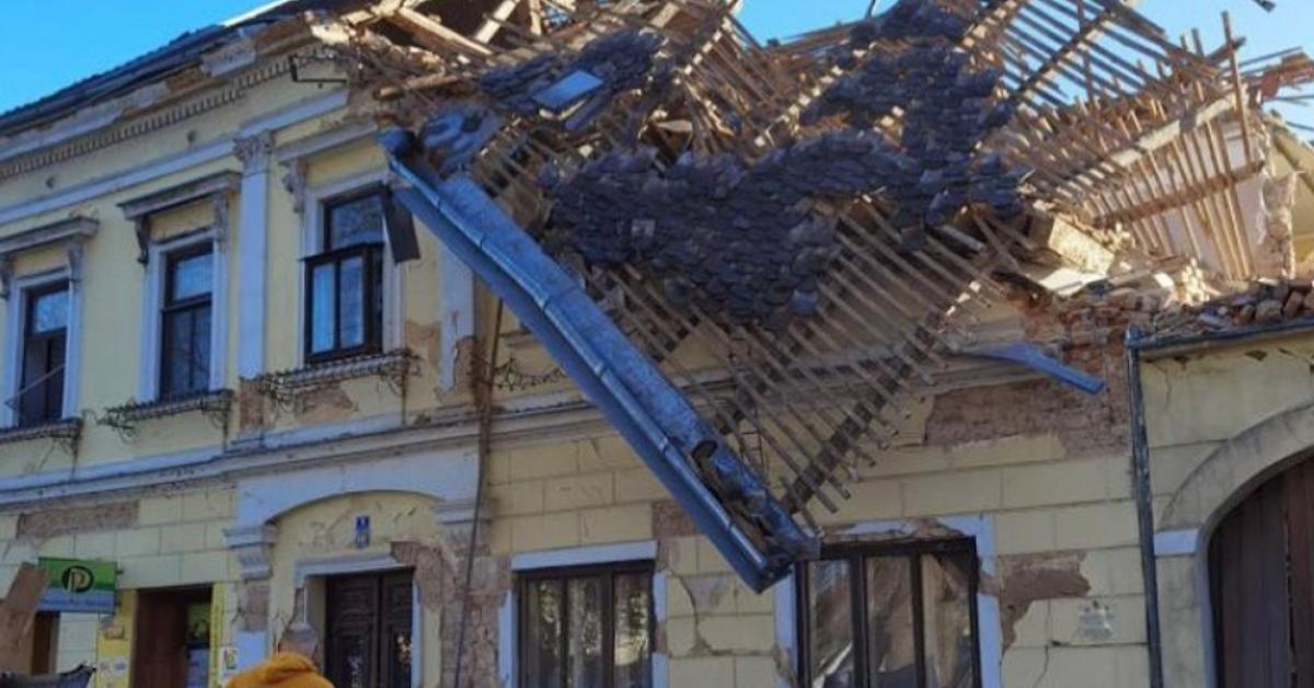earthquake central croatia