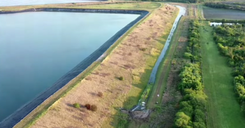 Piney Point Reservoir