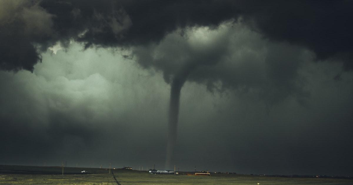 Green Sky Tornado