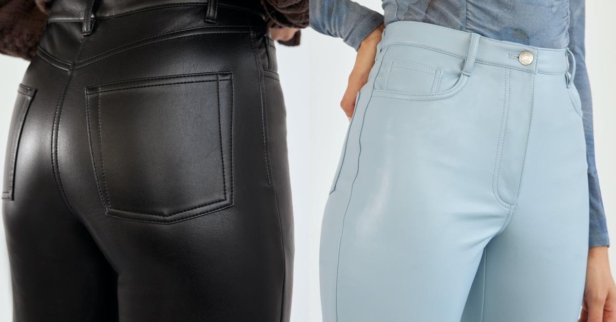 Aritzia vegan leather Melina Pants