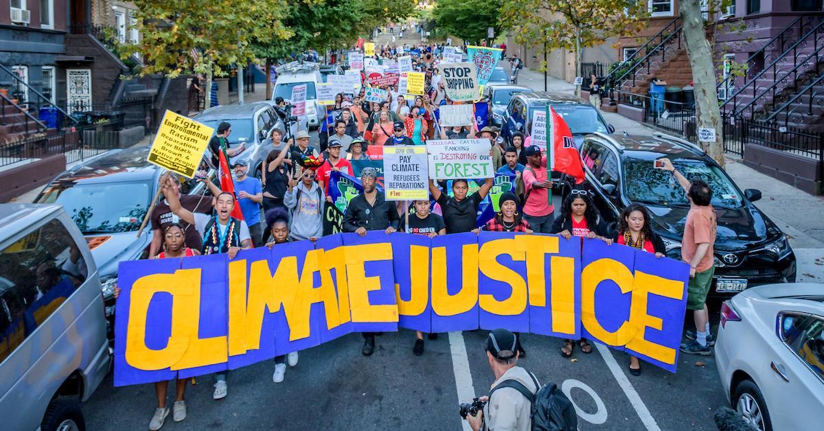 climate justice survey