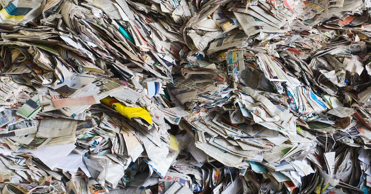 Can you compost glossy magazines?