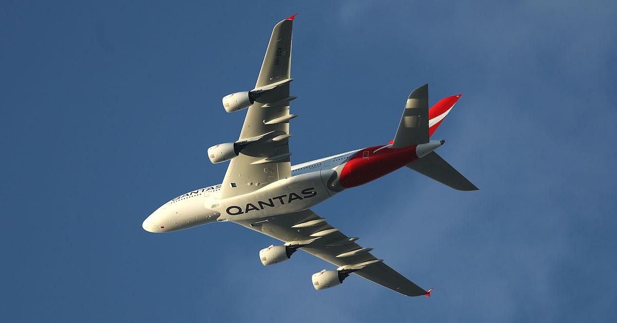 Qantas Airways Successfully Trials Trash-Free Flight