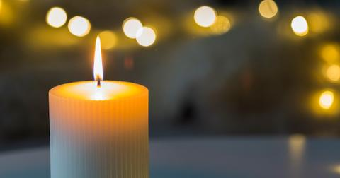 vegan candle