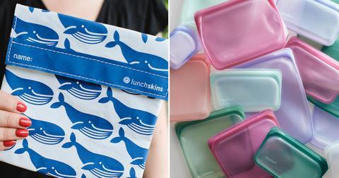 reusable ziploc bags freezer